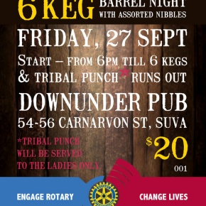 RCSE Barrel Night tomorrow!