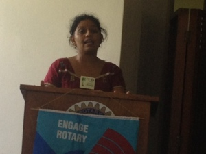 Ms Prem Lata Narayan presents to Rotary Suva East about end of life planning.