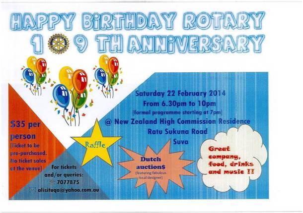 rotary birthday