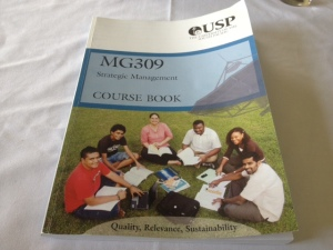 PP Satya's textbook on Strategic Management