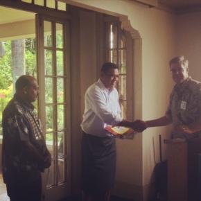 RSCE welcomes InokeWaqalevu