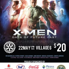 Xmen Movie Premiere Fundraiser- 22 May