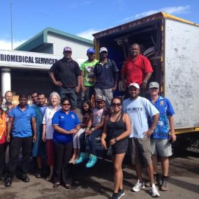 RCSE donates furniture to Navua Health Center and Rampur College
