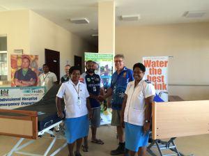 Navua Hospital bed donation