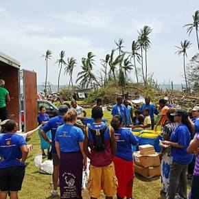 Suva East teams up to provide TC Winston relief