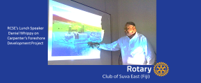 RCSE's Daniel Whippy: Suva Foreshore Project