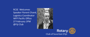 RCSE Welcomes Florent Chané