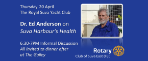 RCSE Welcomes Dr. Ed Anderson, 6:30 20-April