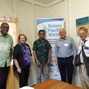 District Governor Gary Langford's Visit to Suva + Combined Clubs Meeting