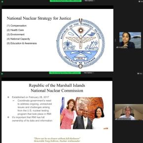 Learning about RMI's nuclear testinglegacy